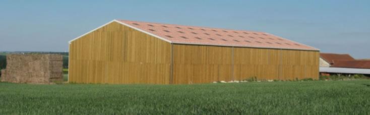 P pin construction for Plan de batiment agricole